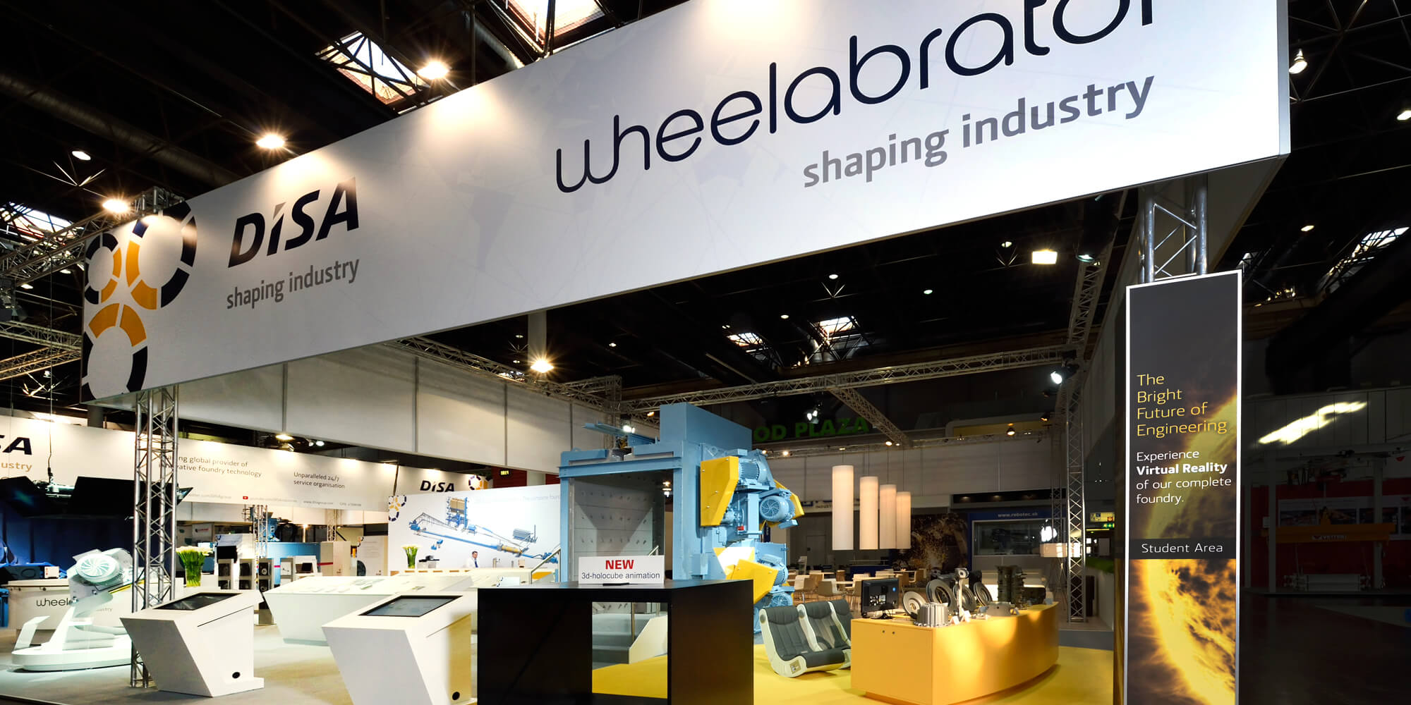 Wheelabrator Event Stand