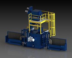 Wheelabrator Shot Peening Machine